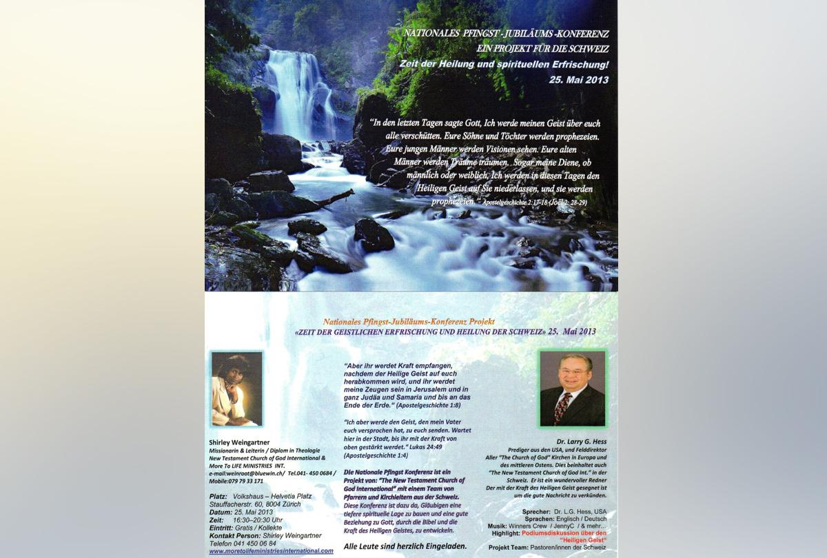 Nationale Pfingst-Jubiläums-Konferenz 2013 (DE)