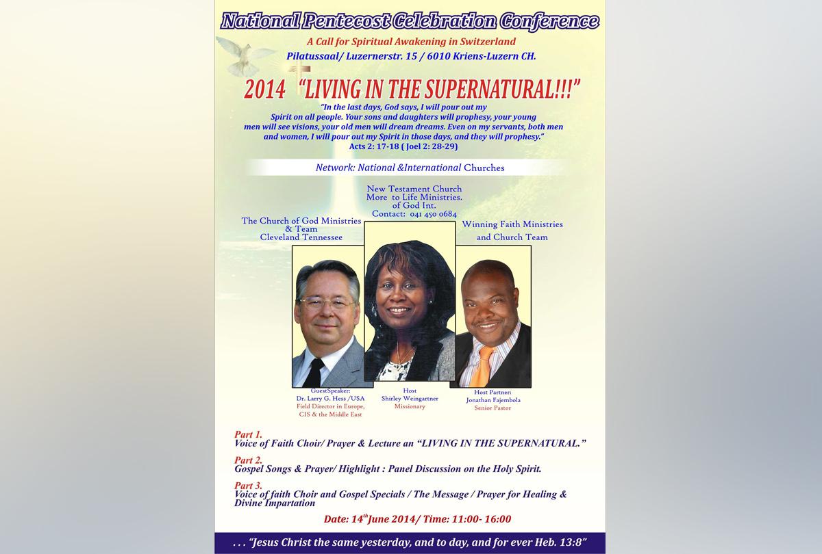 National Pentecost Celebration Conference 2014 (EN)