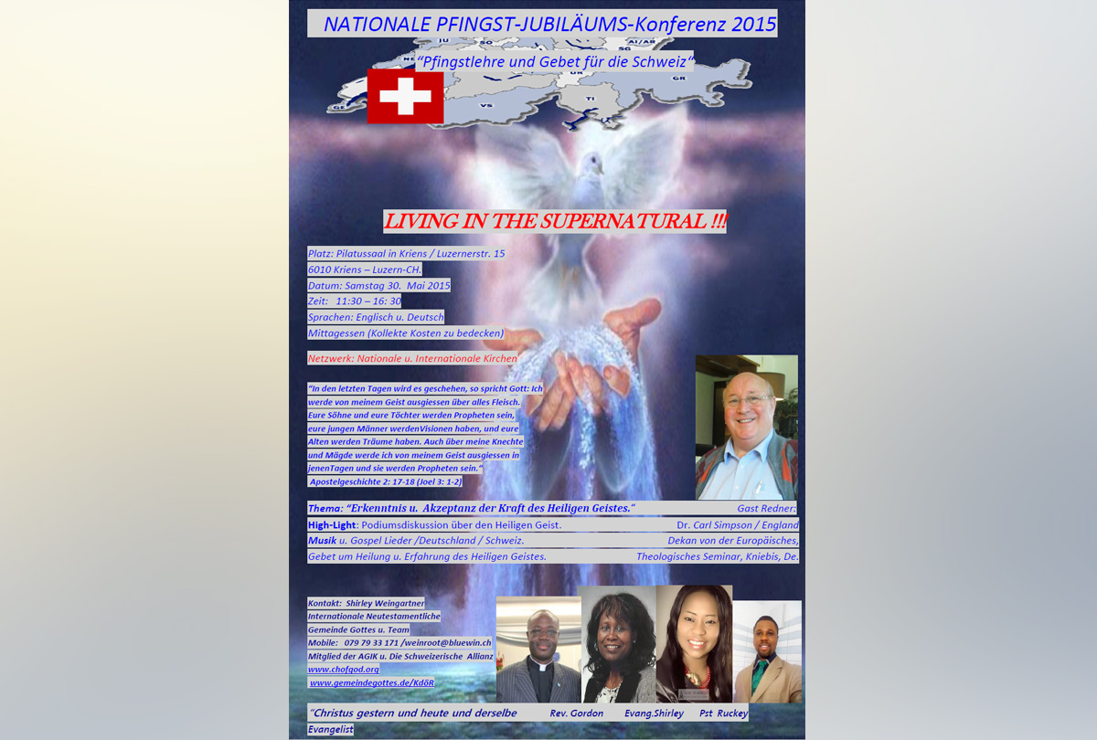 Nationale Pfingst-Jubiläums-Konferenz 2015 (DE)