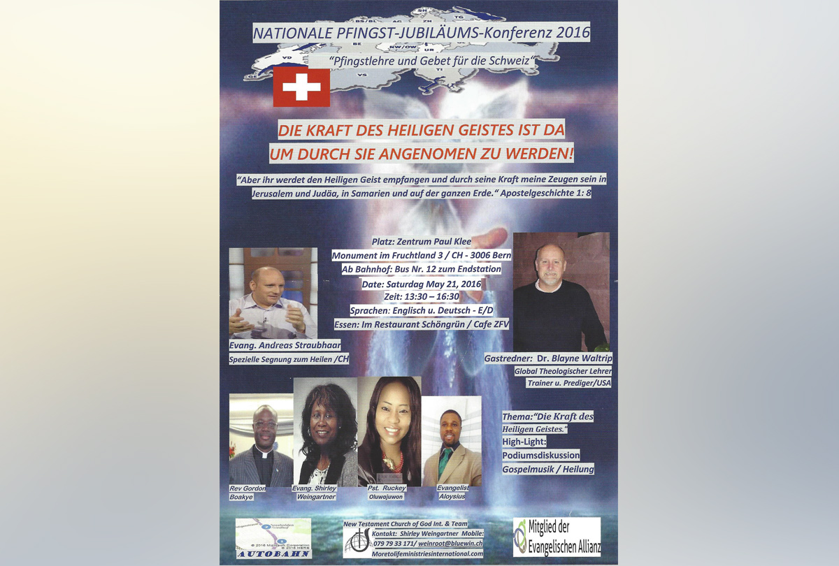 Nationale Pfingst-Jubiläums-Konferenz 2016 (DE)