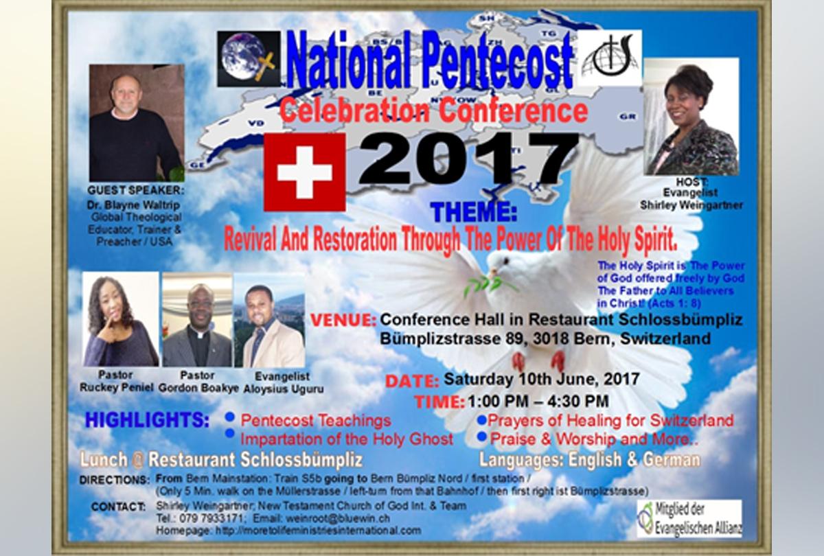 National Pentecost Celebration Conference 2017 (EN)