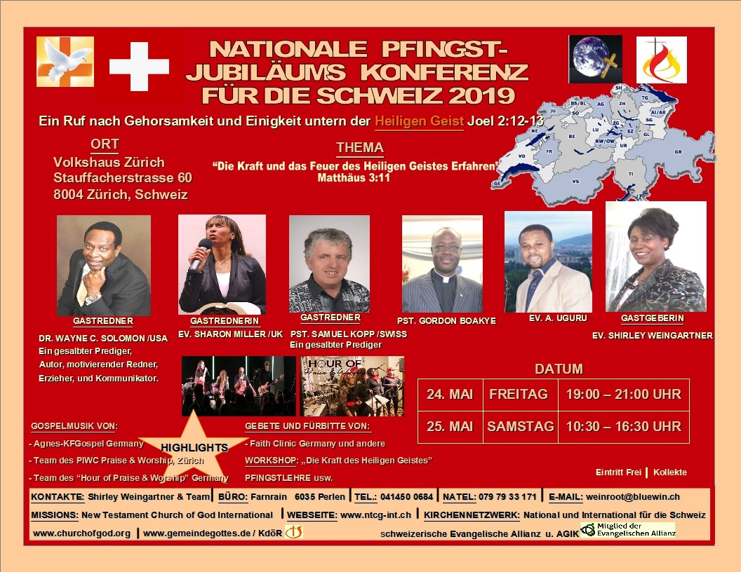 Nationale Pfingst-Jubiläums-Konferenz 2019 (DE)