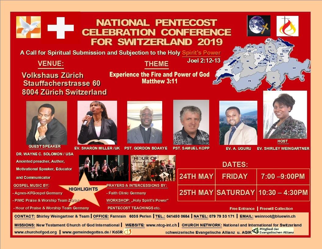 National Pentecost Celebration Conference 2019 (EN)