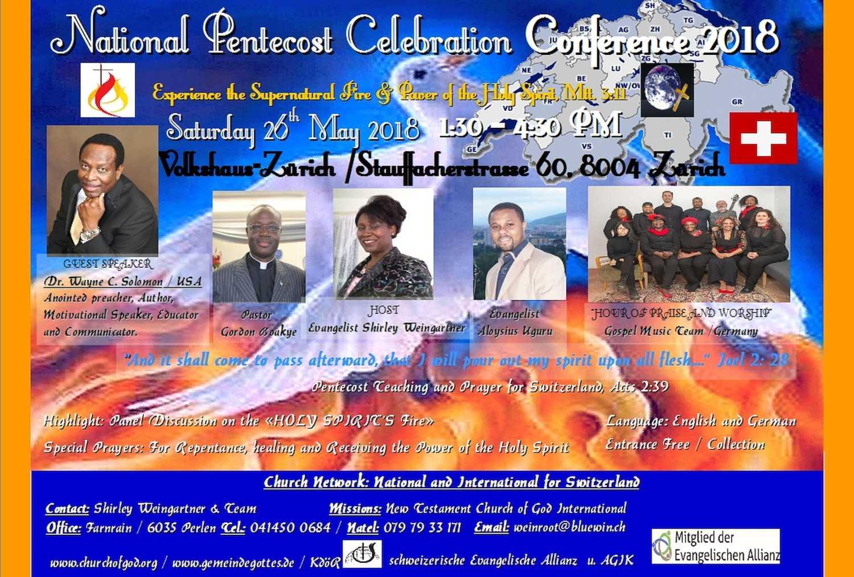 National Pentecost Celebration Conference 2018 (EN)